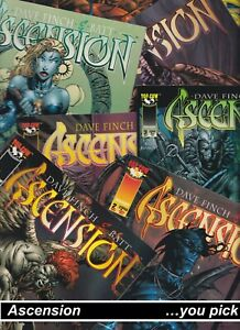 CLEARANCE: TOP COW ASCENSION VG David Finch IMAGE comics you pick BIN 1212