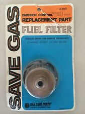Car Care Emission Control Fuel Filter Replacement Part # 14209