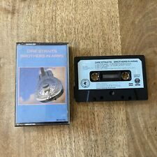 Dire Straits, Brothers in Arms. Cassette Album Vertigo 1985 Play Tested