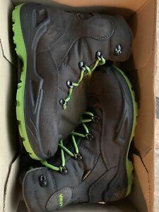 Lowa Kids Rufus 3 GTX Hi Boots Size 2.5 With Goretex RRP £104 Waterproof EU 35