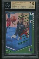 2018-19 panini chronicles elite green LUKA DONCIC rookie BGS 9.5 pop 2