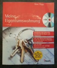 Meine Eigentumswohnung WIE NEU von Marc Popp 3.Auflage Haufe mit CD