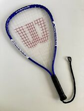 Racquetball racquet Wilson - Titanium Crushing Power Xpress Xs 3 7/8 Racket