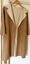 BNWOT  DAKS stunning & gorgeous classic investment light coat camel & cream UK 8