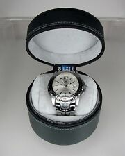 TAG Heuer LINK Stainless Steel Silver Dial Full Size Men's Watch, WT1112, Mint