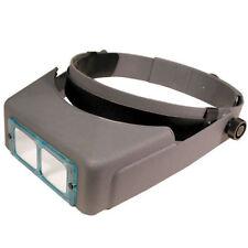 "2.50X Magnification Hands Free Magnifier , Headset, Mag Visor, focal length 8"""