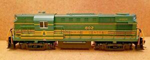 Maine Central Railroad ALCO RS-11 Diesel Locomotive 802 Atlas 8786 HO Powered