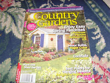 Spring March 2013 Better Homes and Gardens Country Gardens magazine issue flower