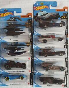 Hot wheels konvolut ovp Batman / Batmobile / Batplane