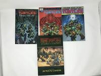 Lot of 4 TMNT Teenage Mutant Ninja Turtles TPB Eastman Soul's Winter