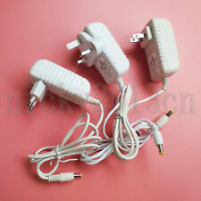 5Pcs DC 12V 2A 24W Transformer Power Supply Switch Adapter White Indoor