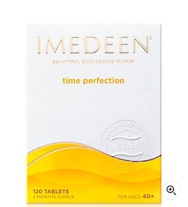 Imedeen Age 40+ Time Perfection. 2 months supply Fast Free Delivery 120 Tablets