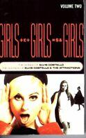 Elvis Costello Girls Girls Girls 1989 Hard Classic Rock Roll Cassette Tape Pop