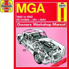 0475 MGA 1.5 1.6 Petrol 1955-1962 Haynes Manual Classic Reprint