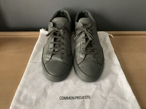 COMMON PROJECTS  ACHILLIES LOW TRAINERS SIZE 43 MADE IN ITALY