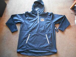 Authentic Nike On-Field Cincinnati Bengals Player Football Hot Jacket Men XL NEW
