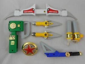Mighty Morphin Power Rangers Power Blaster Konvolut Accessoire Weapons ZEO MMPR