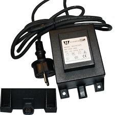 Halogen Trafo 105W IP44 12V AC Niedervolt-Stecksystem Außenbereich Transformator