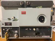 Super 8 Tonfilmprojektor ELMO ST-1200 D MO - Ersatzteilträger -  Bj. ca. 1977