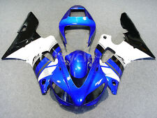 For Yamaha YZF R1 1998-1999 98 99 Blue Black Complete Injection Fairing Bodywork