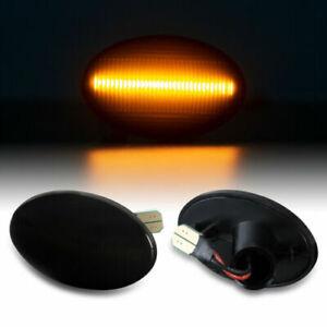 LED Indicators for Vauxhall Corsa B Tigra A Combo Black 71018-1