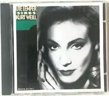 Ute Lemper Sings Kurt Weill - CD - Very Good Condition