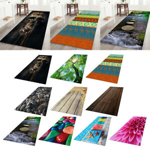 Modern Area Rug 3D Effect Runner Mat Floor Carpet for Bedroom Living Room