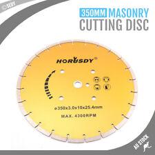 NEW Masonry Cutting Disc Circular Diamond Saw Blade Concrete Stone Cutter 350mm