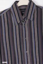 Camisas y polos de hombre de manga larga negros HUGO BOSS