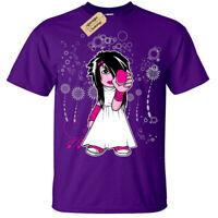 Kids Boys Girls Emo Girl goth cute T-Shirt