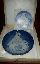 Bing & Grondahl B&G Porcelain Mothers Day Plate 1974 - Mors Dag Royal Copenhagen