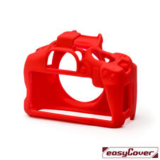 easyCover Silicone Skin Camera Armor Case to fit Canon EOS 4000D - Red