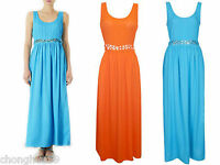 Women Evening Party Wedding Long Dress Ex-Chain store Top Shop Crepe Maxi New