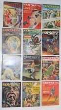 Lot of 12 Fantastic Stories of Imagination Magazines 1962 Full Year Fritz Leiber