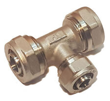 Klemmring T-Stück 20x16x20mm reduziert für Verbundrohr / Mehrschichtverbundrohr
