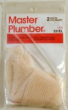 Nylon Lint Trap for Washing Machine Drain Systems & Discharge Master Plumber