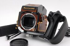 [Rare! & Near MINT] Mamiya M645 1000s AE Finder Gold Lizard leather From Japan