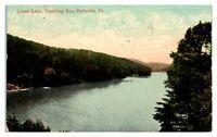 1908 Lower Lake, Tumbling Run, Pottsville, PA Postcard *255