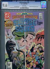 Secret Origins #14 CGC 9.6 (1987) Suicide Squad Legends White Pages