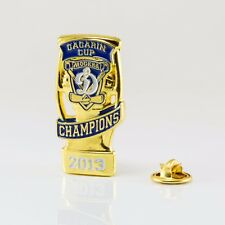 KHL Dynamo Moscow winner of Gagarin Cup 2013 pin, badge, lapel, hockey