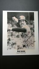 "Rick Cerone autographed 6 1/4"" x 8 1/2"" (8 X 10) Photo (New York Yankees)"