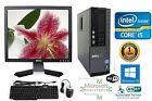 Dell Desktop Computer Intel Core i5 Windows 10 HP 64Bit 1TB 3.40ghz 8gb Ram