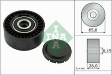 AUDI A4 8K 2.0D Aux Belt Idler Pulley 07 to 15 Guide Deflection INA 059903341F