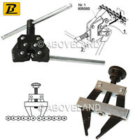 Chain breaker cutter + Chain Puller Holder tension Tool ATV Motorcycle Bike MX
