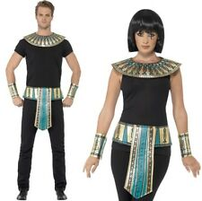 Adulto Unisex Faraone Egiziano Costume Kit Egitto Faraone Set da Smiffys