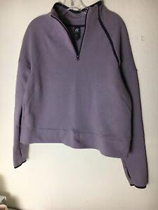 Champion Sweat Shirt , Lilac Womens Size Large