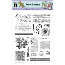"""Hot Off The Press Acrylic Stamps 6""""X8"""" - Fancy Patterns"""