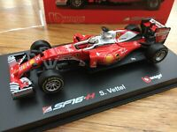 FERRARI F1 cars S Vettel 2016 2018 2019 1:43 BBURAGO 36803 36804 36809 or 36815