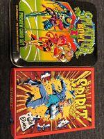 THE SPIRIT By WILL EISNER & Splatter Bowl I Splatterball TRADING Comic Cards