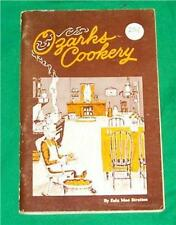 OZARK COOKERY COOK BOOK HILLBILLY FOLK MOUNTAIN BRANSON MISSOURI MO ARKANSAS AR
